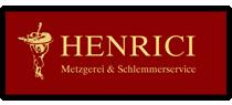 Henrici – Metzgerei & Schlemmerservice Logo